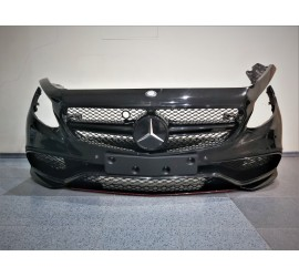 GENUINE Mercedes W217 S Class Coupe Convertible S63 AMG Front Bumper Cover Black A2178851155
